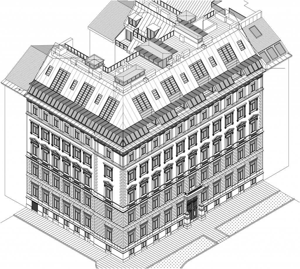 Dachgeschossausbau Wien 1