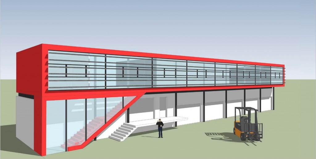 Skybox Büros für Gewerbebetrieb Wien 23