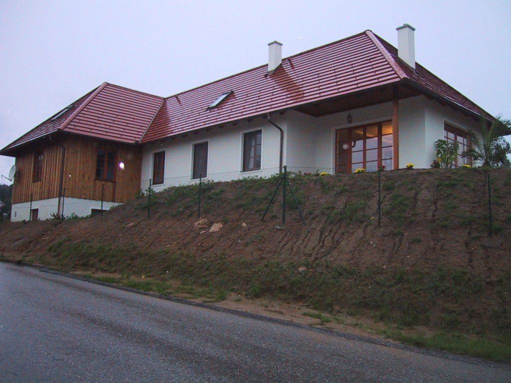 Einfamilienhaus im Dunkelsteiner Wald