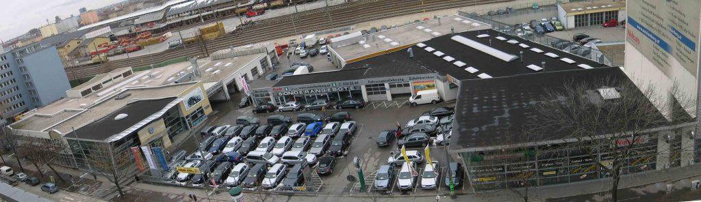 Autobetrieb in Wien 20, 25 Jahre immer wieder Zubauten